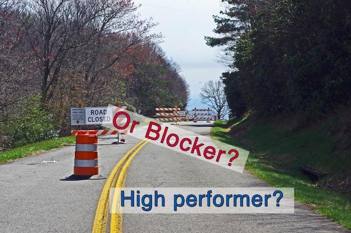 Ahh-Yes! A high performer or a blocker?